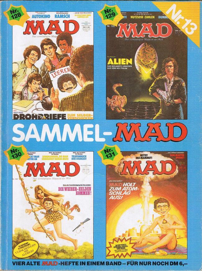 Sammel MAD #13 • Germany • 1st Edition - Williams