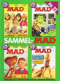 Go to Sammel MAD #22 • Germany • 1st Edition - Williams