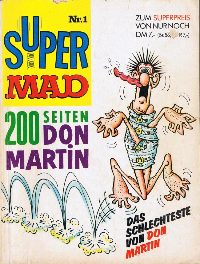 Super MAD #1 • Germany • 1st Edition - Williams