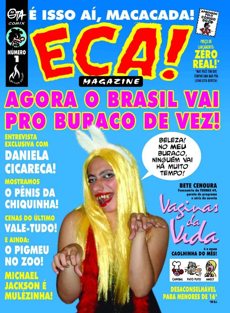 ECA! Magazine #1 • Brasil • 3rd Edition - Mythos