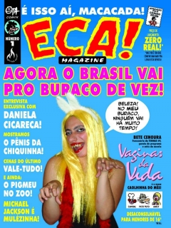 Go to ECA! Magazine #1 • Brasil • 3rd Edition - Mythos