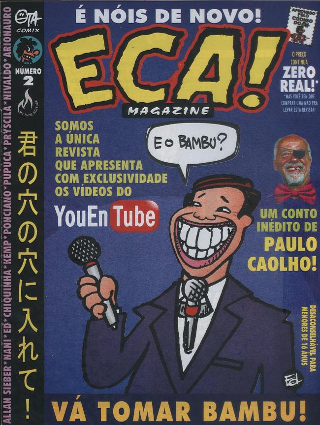 ECA! Magazine #2 • Brasil • 3rd Edition - Mythos