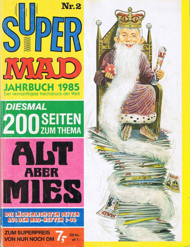 Super MAD #2 • Germany • 1st Edition - Williams