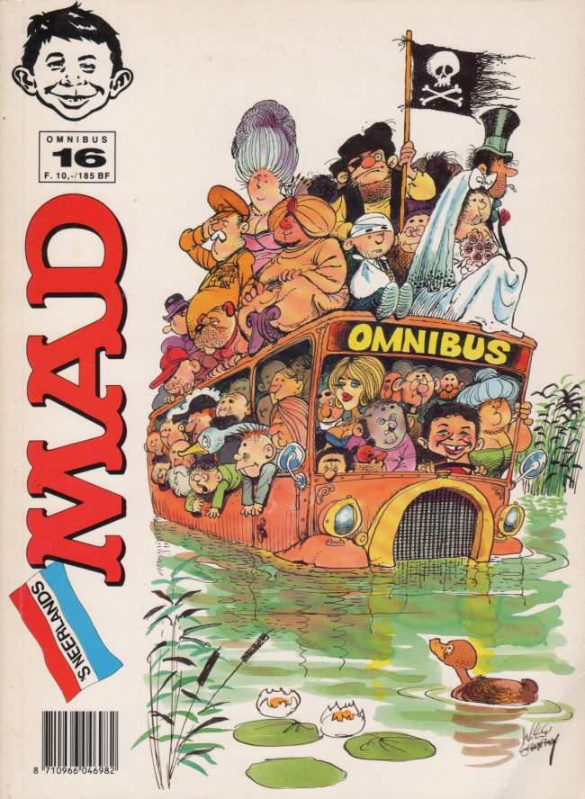 MAD Omnibus #16 • Netherlands • 1st Edition