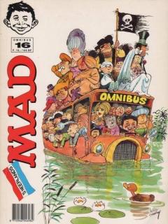 Go to MAD Omnibus #16