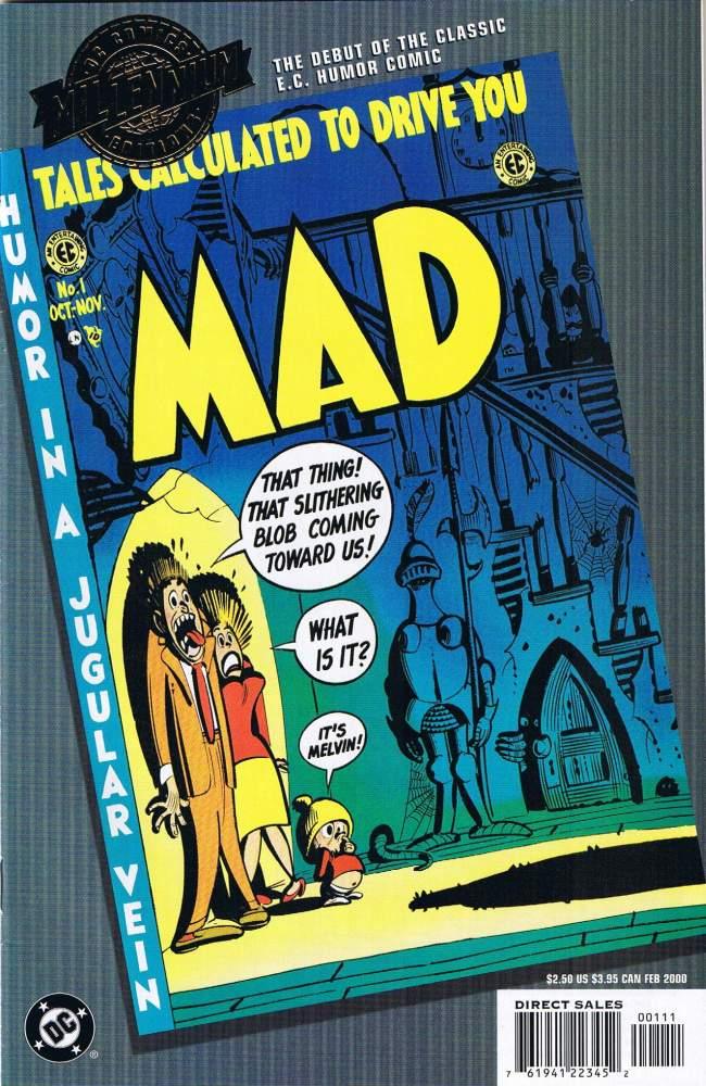 MAD #1 Reprint • USA • 1st Edition - New York