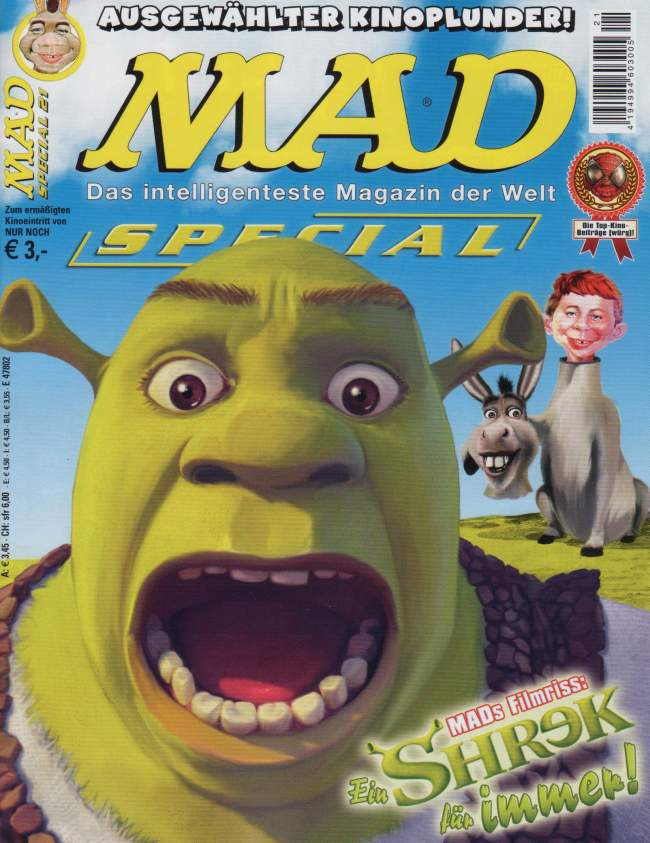 MAD Special #21 • Germany • 2nd Edition - Dino/Panini