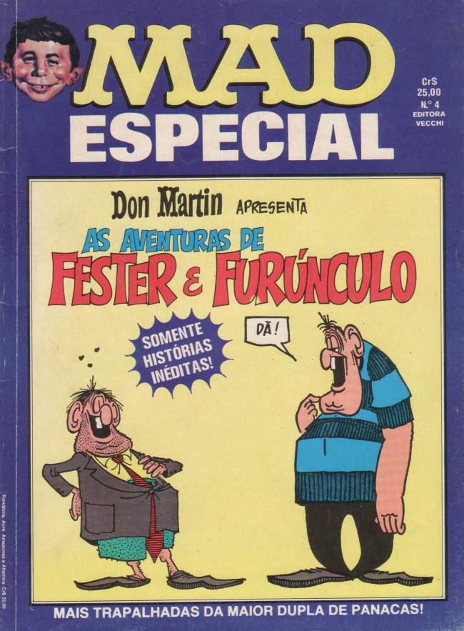 MAD Especial (Vecchi) #4 • Brasil • 1st Edition - Veechi