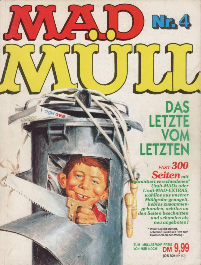 MAD Müll #4 • Germany • 1st Edition - Williams
