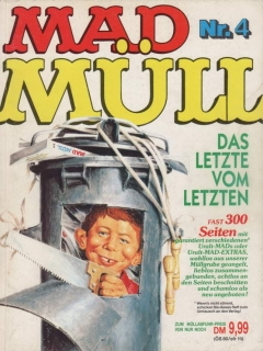 Go to MAD Müll #4 • Germany • 1st Edition - Williams