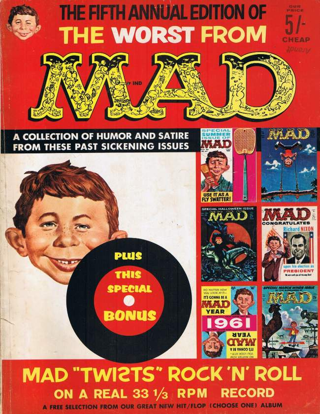 The Worst from MAD • Great Britain • 1st Edition
