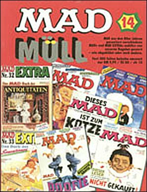 MAD Müll #14 • Germany • 1st Edition - Williams