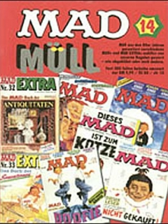 Go to MAD Müll #14 • Germany • 1st Edition - Williams