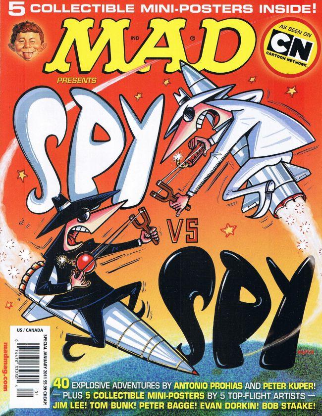 MAD presents Spy vs Spy • USA • 1st Edition - New York