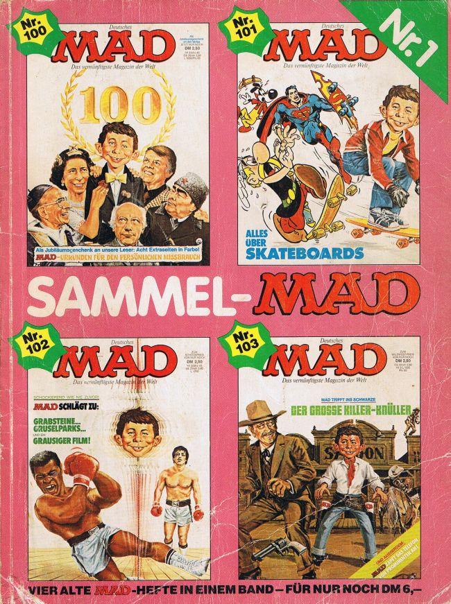 Sammel MAD #1 • Germany • 1st Edition - Williams