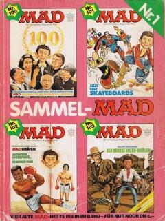 Go to Sammel MAD #1 • Germany • 1st Edition - Williams