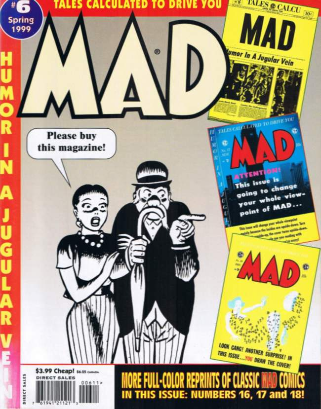 Tales calculated to drive you MAD #6 • USA • 1st Edition - New York