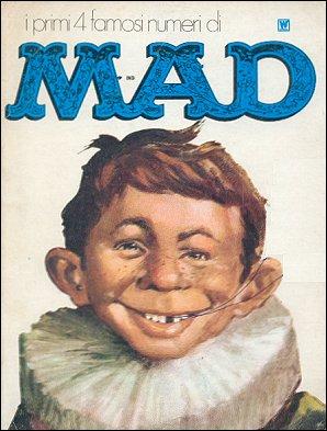 I primi 4 famosi numeri di MAD #1 • Italy • 1st Edition