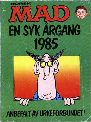 MAD Årgang Bound Volumes #4 • Norway • 1st Edition - Williams