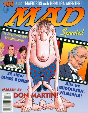 MAD Special • Sweden • 1st Edition