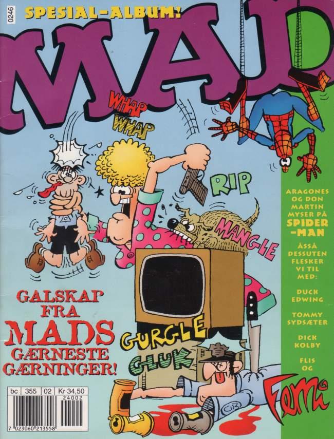 MAD Spesial-Album • Norway • 4th Edition - Egmont