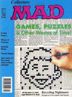 Collector's MAD #1 • Great Britain