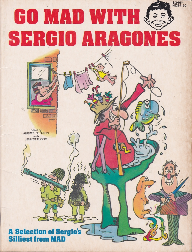 Go MAD with Sergio Aragones • Australia
