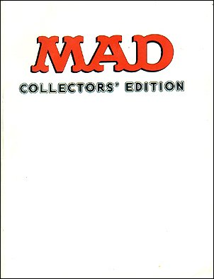 MAD Collectors' Edition • Great Britain