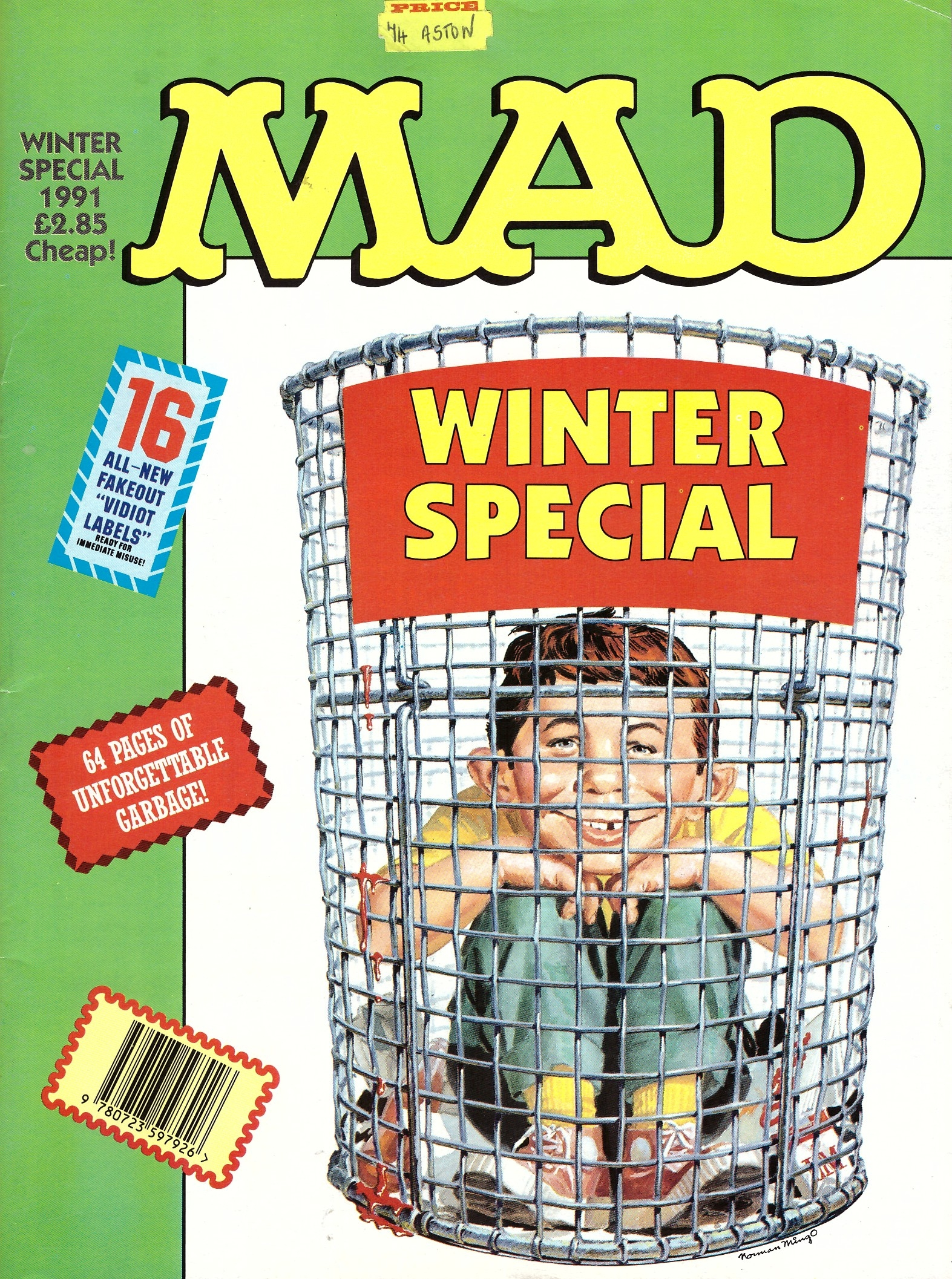 MAD Winter Special 1991 • Great Britain