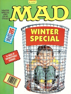 Go to MAD Winter Special 1991 • Great Britain