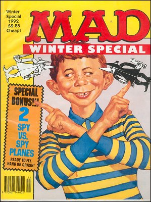 MAD Winter Special 1992 • Great Britain