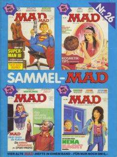 Go to Sammel MAD #26 • Germany • 1st Edition - Williams