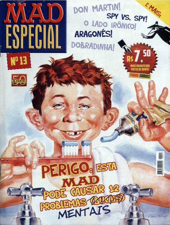 MAD Especial #13 • Brasil • 4th Edition - Panini