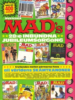 Go to MAD Inbundna årgång #28 • Sweden