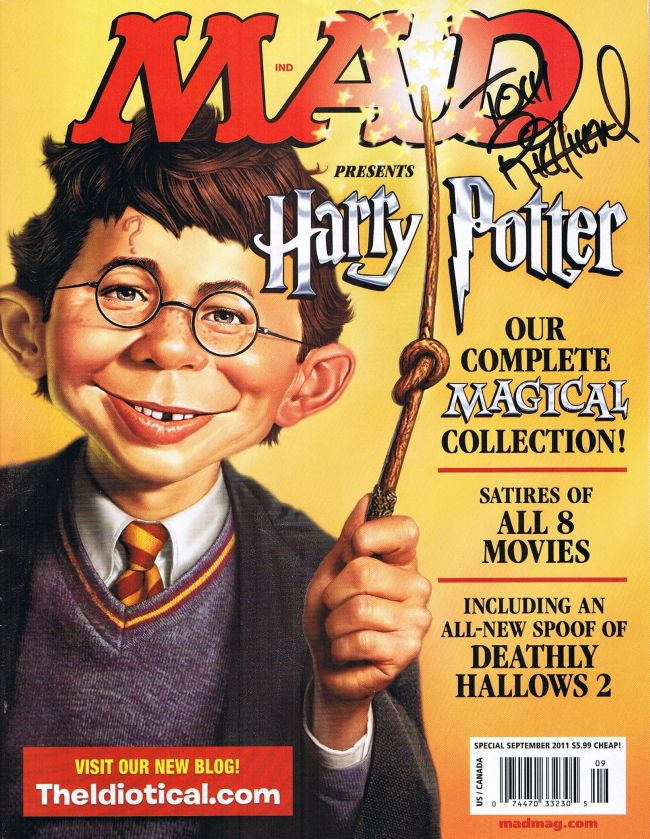 MAD presents Harry Potter • USA • 1st Edition - New York