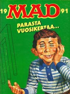 Go to MAD Parasta Vuosikertaa Omnibus • Finland • 2nd Edition - Semic