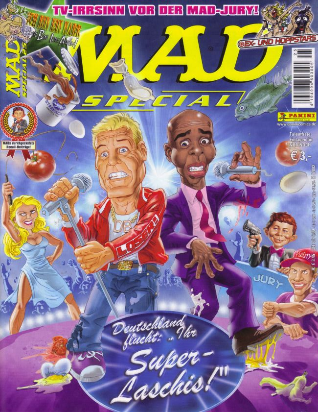 MAD Special #25 • Germany • 2nd Edition - Dino/Panini