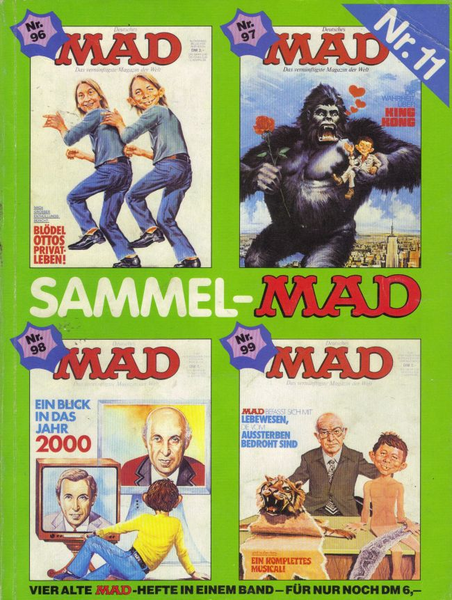 Sammel MAD #11 • Germany • 1st Edition - Williams