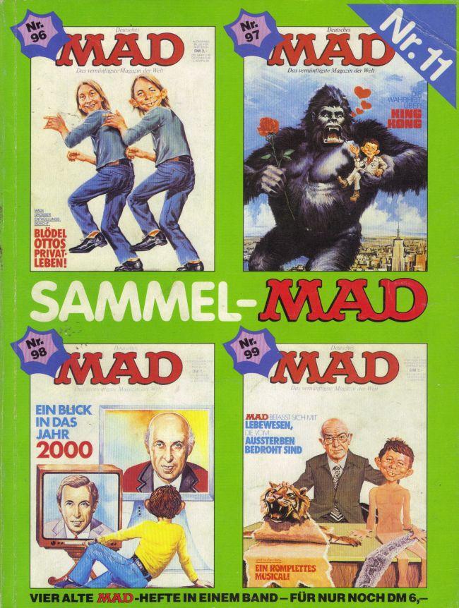 Sammel MAD #11 • Germany • 1st Edition - Williams