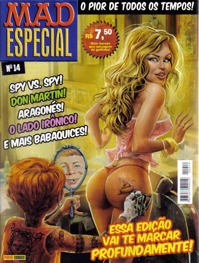 MAD Especial #14 • Brasil • 4th Edition - Panini