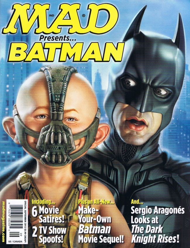 MAD presents Batman #1 • USA • 1st Edition - New York