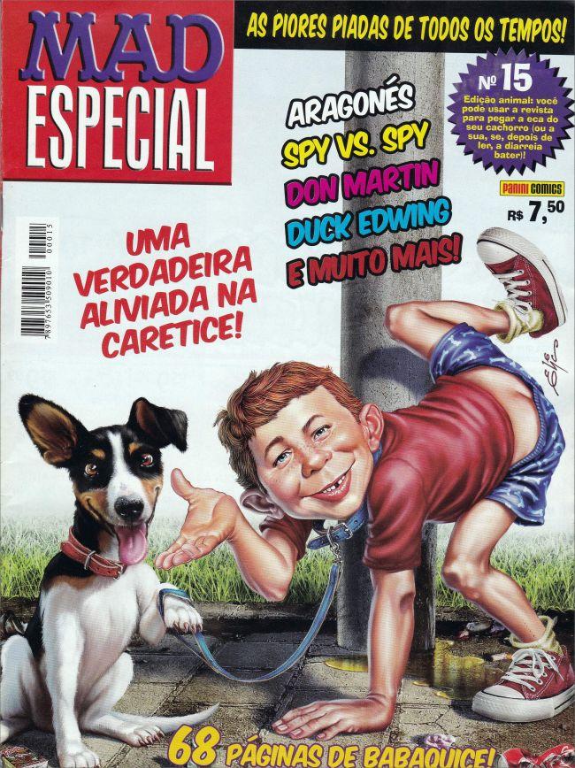 MAD Especial (Panini) #15 • Brasil • 4th Edition - Panini