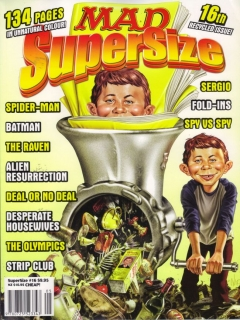 Go to MAD SuperSize #16