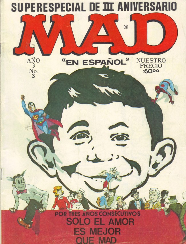 MAD Super Especial #3 • Mexico • 1st Edition - Lisa
