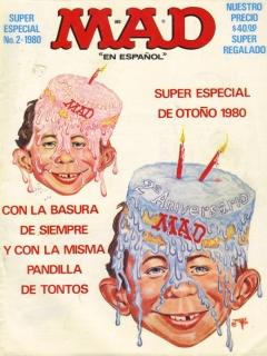 MAD Super Especial #2 • Mexico • 1st Edition - Lisa