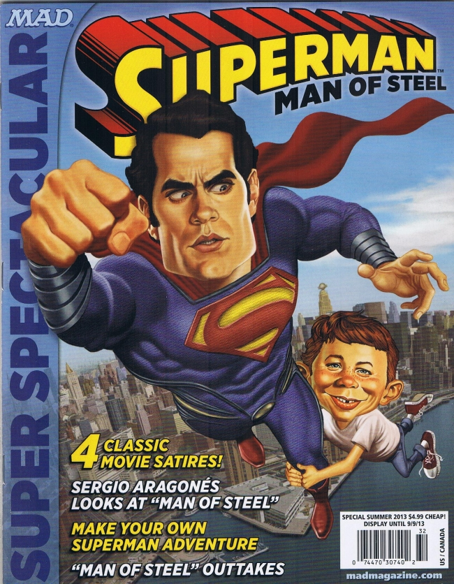 MAD Super Spectacular: Superman • USA • 1st Edition - New York