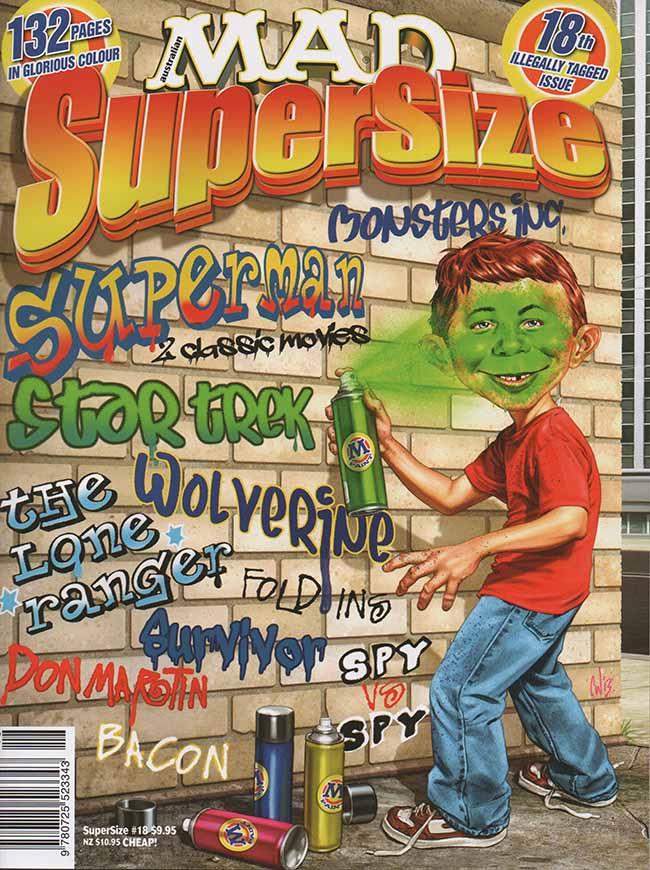 MAD SuperSize • Australia • 1st Edition