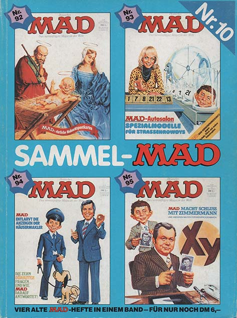 Sammel MAD #10 • Germany • 1st Edition - Williams