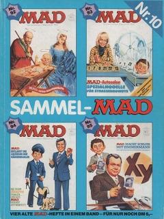 Go to Sammel MAD #10 • Germany • 1st Edition - Williams