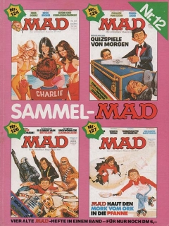Sammel MAD #12 • Germany • 1st Edition - Williams